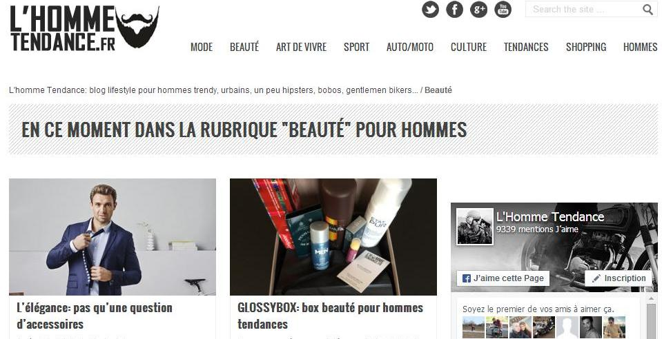 l'homme tendance page 2